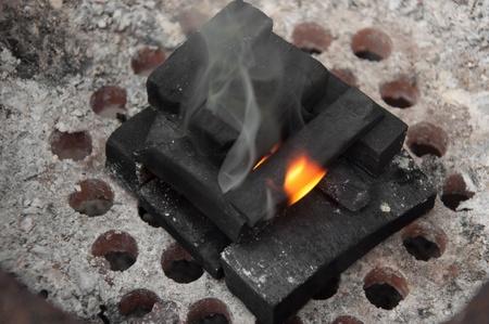 coal stove Stock Photo - 11233700