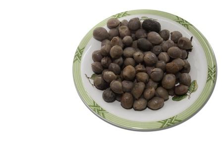 Bambarra Groundnut isolate on white Stock Photo - 11233660