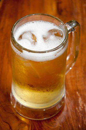 cool beer mug photo