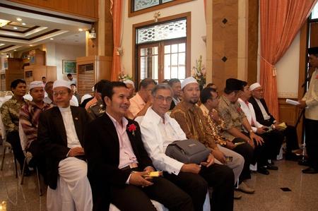 atender: YALA, Tailandia - 29 de noviembre: Personas no identificadas para asistir a la ceremonia de lectura Cor�n en la Ceremonia de lectura Cor�n el 29 de Nov de 2011 en Ma-Ta Fundaci�n Yala, Tailandia