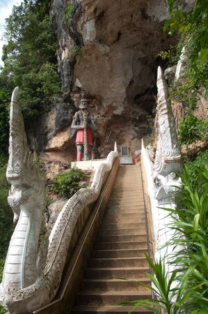 thai giant statue at cave temple yala, thailand Stock Photo - 11596968