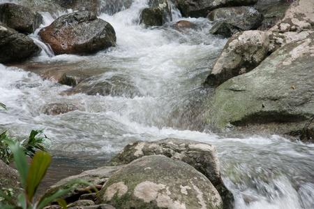 Chute d'eau en thailande Banque d'images - 12338639