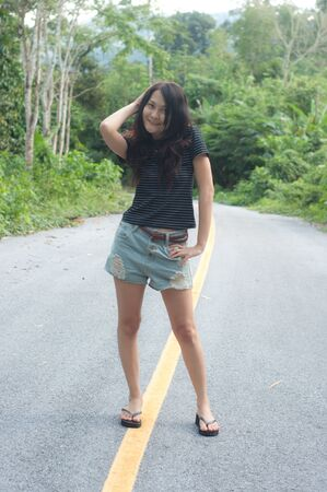 asian thai attractive woman photo