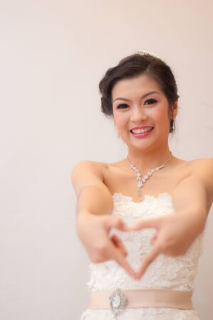 attractive young Bride photo