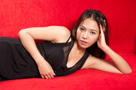 asian attractive woman photo