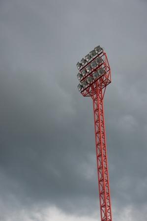 sport stadium light tower photo