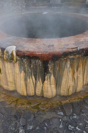 sump: pozzanghera di acqua calda corrente