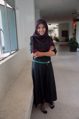 asian thai muslim attractive women photo
