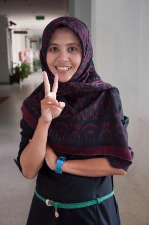 femme musulmane: asiatique thai musulmans de jolies femmes