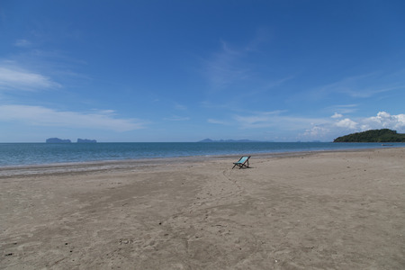 Sea view of Koh-Sukorn Island in Trang, Thailand
