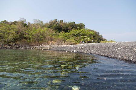 Hin-ngam Island near lipe island in Satun,Thailand Stock Photo