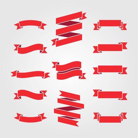 3D shape badge vector design