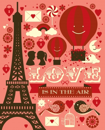 hot boy: valentine s day graphic vector illustration