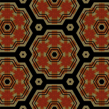Retro Pattern Abstract Art 3