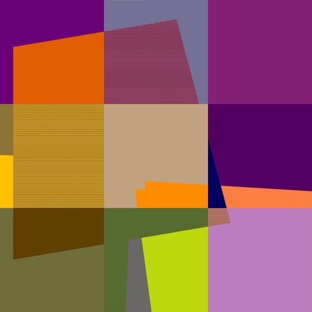 colorfuls: Retro Pattern Abstract Art 1