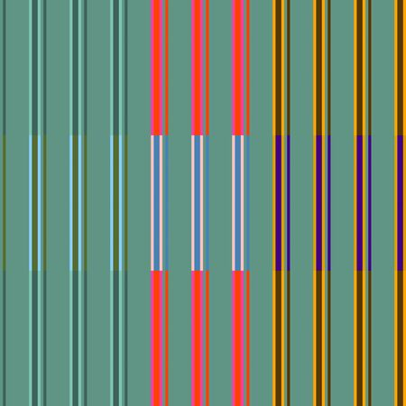 colorfuls: Vintage Colorful Stripes Pattern 1