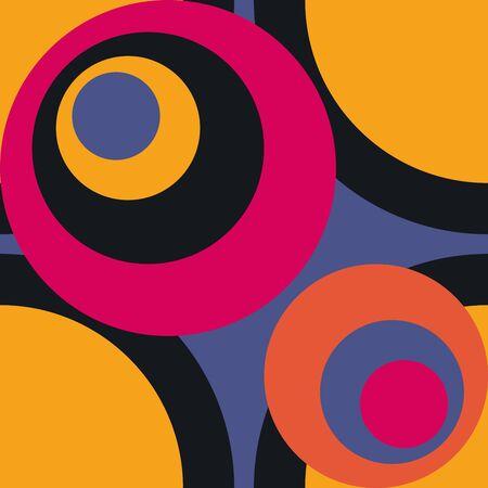 Retro Fifties Abstract Art Background Stock Photo - 13569701