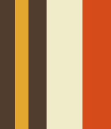 Vintage Orange Grey Yellow Cream Striped Pattern background
