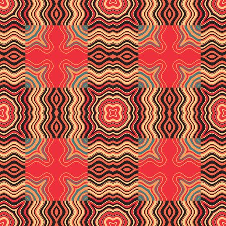 Art Deco Pattern Retro Abstract Art Stock Photo - 13696414