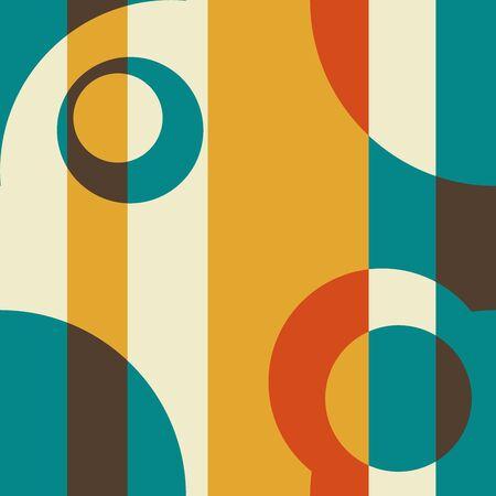 Art Deco Fifties and Stripes Retro Abstract Art photo