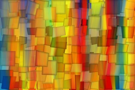 COLORFUL PAINT RAINBOW ART  photo