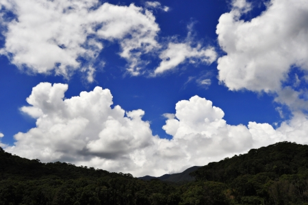 Landscape clouds photo