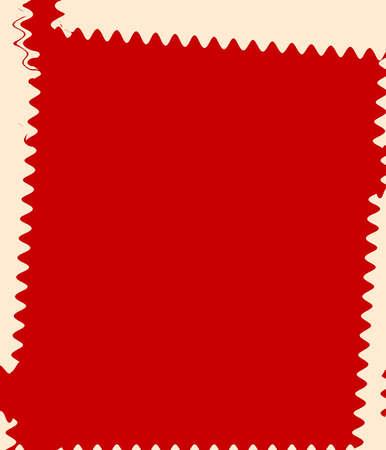 Retro Red Abstract Art Deco photo