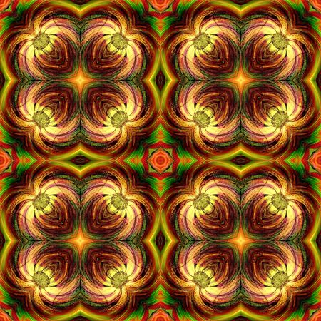 colorfuls: Fantasy Flower Art Design Abstract Stock Photo