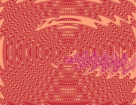 Red Wave Funky Art Design Abstract Background photo