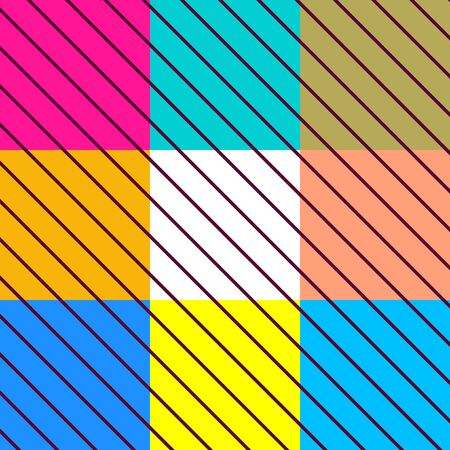colorfuls: Colorful Stripes Art Design Abstract Background