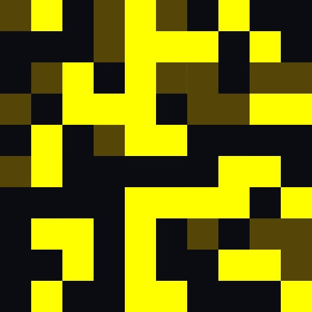 Black and Yellow Retro Art Design Abstract Background Stock Photo