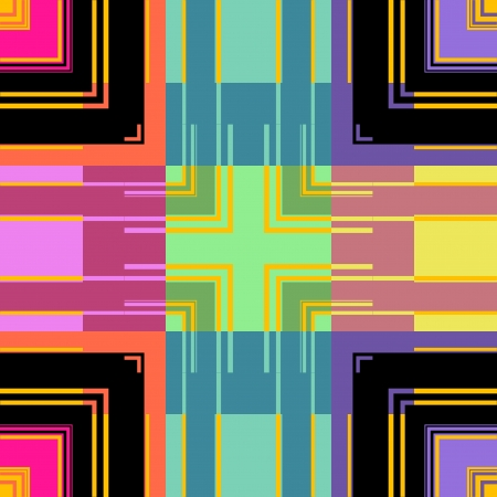 argyles: Multi Colored Seamless Retro Stripes Art Design Abstract Background