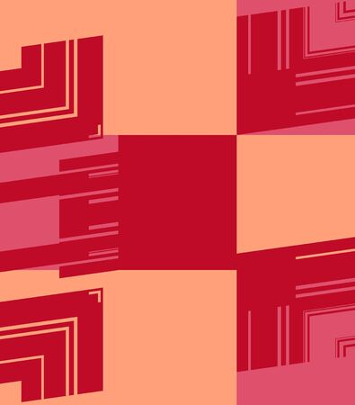 colorfuls: Red Retro Art Design Abstract Background Stock Photo