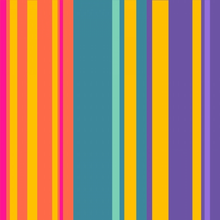 Multi Colored Retro Stripes Art Design Abstract Background Stock Photo