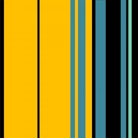 damasks: Yellow, Black, Blue Retro Stripes Art Design Abstract Background