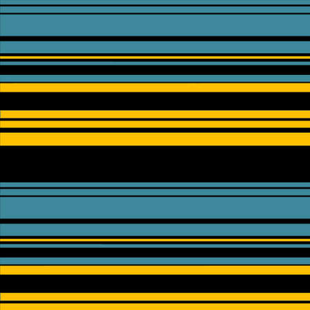 colorfuls: Blue, Yellow, Black Retro Stripes Art Design Abstract Background