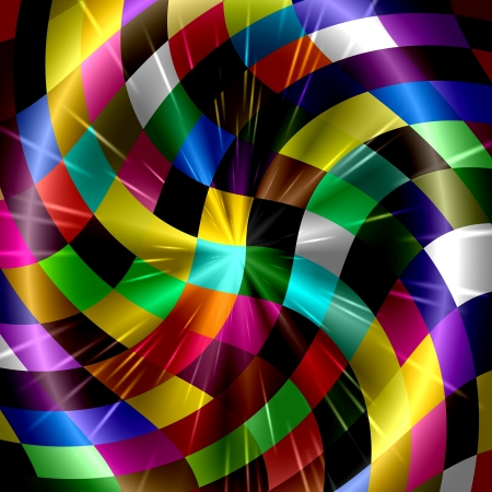 Colorful Rays Of Light Art Design Abstract Stock Photo - 14112058