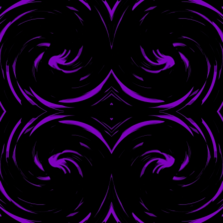 Violet, Purple Damasks Retro Art Design Abstract photo