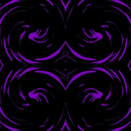 damasks: Violet, Purple Damasks Retro Art Design Abstract