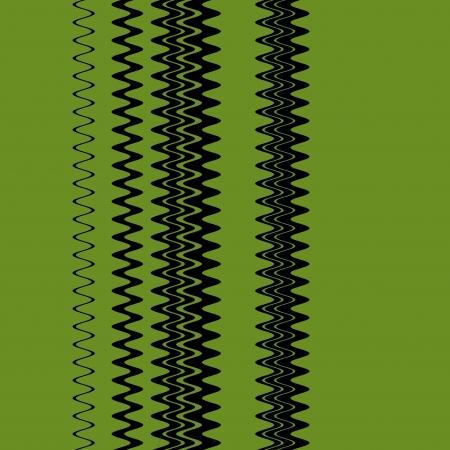 Chevron Green Fashion Zigzag Stripes Art Design photo