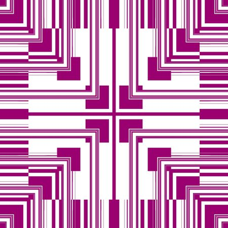 argyles: Pink White Seamless Pattern Retro Art Design Stock Photo
