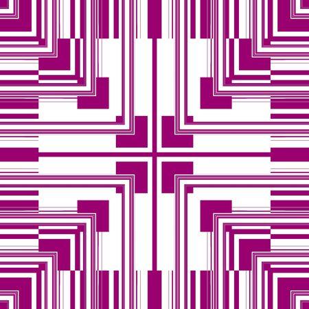 retros: Pink White Seamless Pattern Retro Art Design Stock Photo