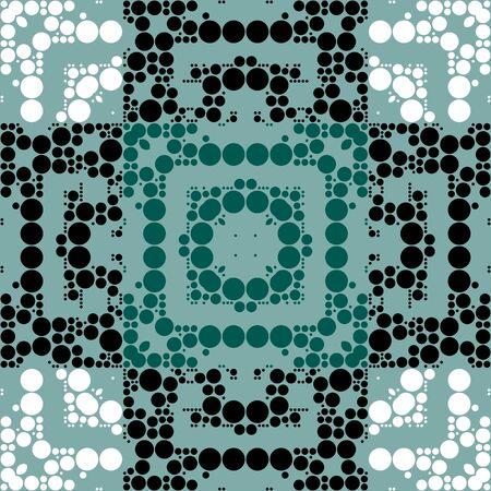 damasks: Polka Dots Seamless Stripes Pattern Art Design