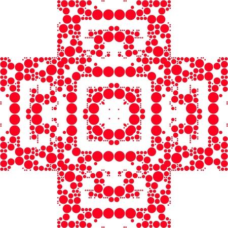 lunares rojos: Puntos rojos Patr�n Transparente Stripes dise�o de arte
