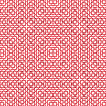 retros: Pink Seamless Fifties Pattern Art Design Abstract Stock Photo