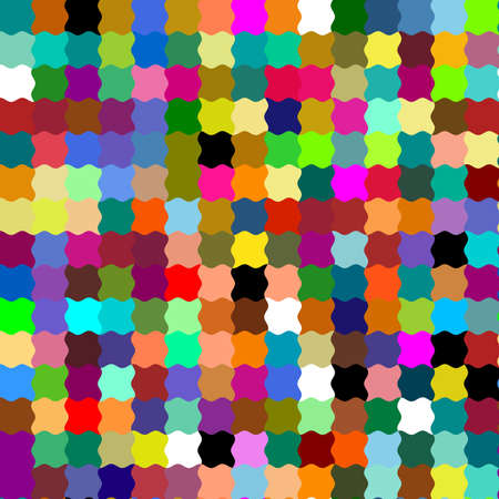 argyles: Multi Colored Vinatge Stripes Pattern Art Design Abstract