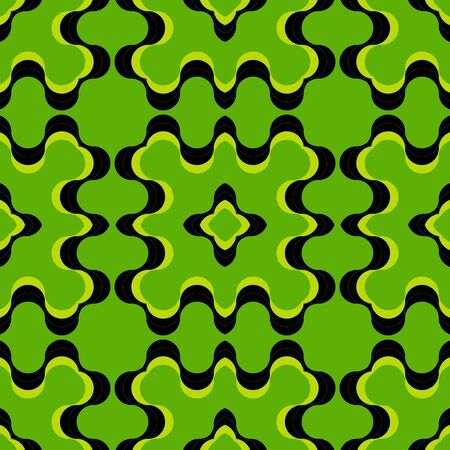 Green Retro Fashion Pattern Abstract Art Background photo