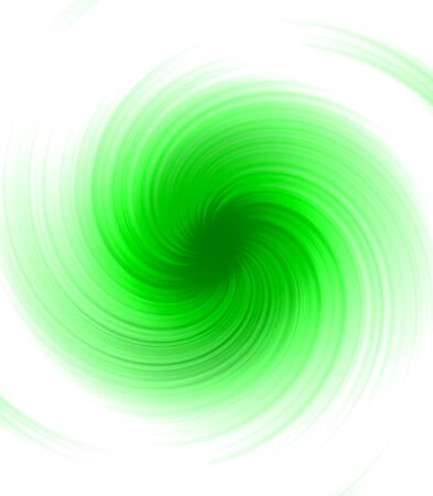 brindled: Abstract Green spiral ray blurry background