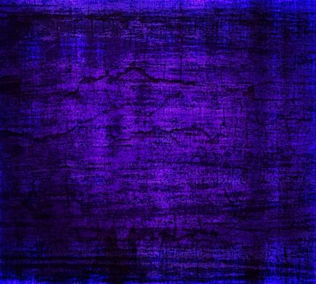垃圾紫藍色的手繪牆紋理背景
