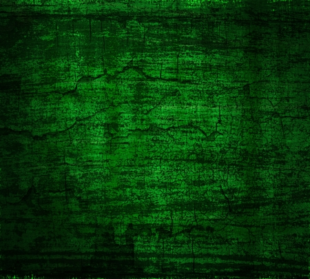 grunge dark green painted wall texture background photo